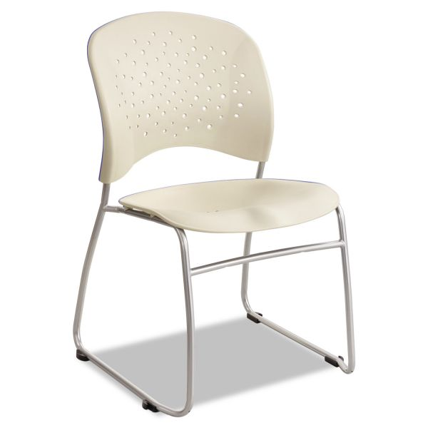 Safco Rêve Series Guest Chairs With Sled Bases