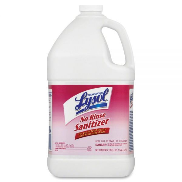 Lysol No Rinse Sanitizer (Concentrate)