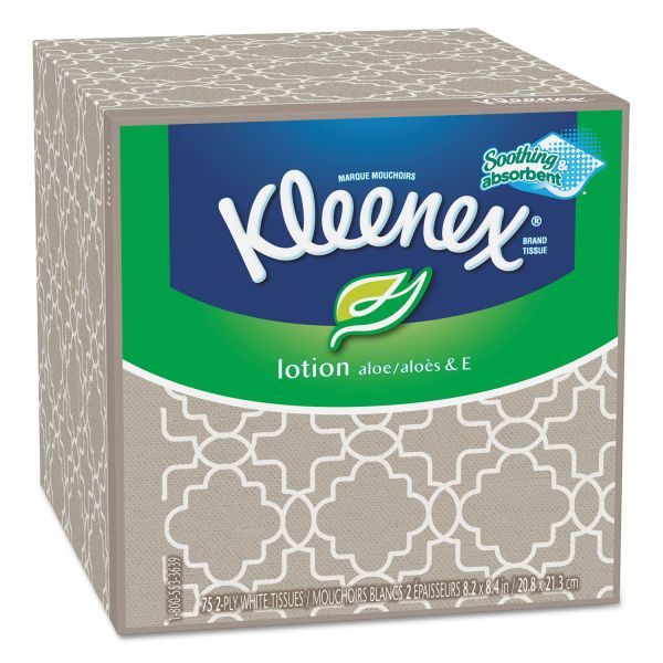 Kleenex Lotion 2-Ply Facial Tissues