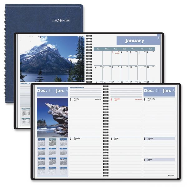 At-A-Glance DayMinder Scenic Weekly/Monthly Appointment Book