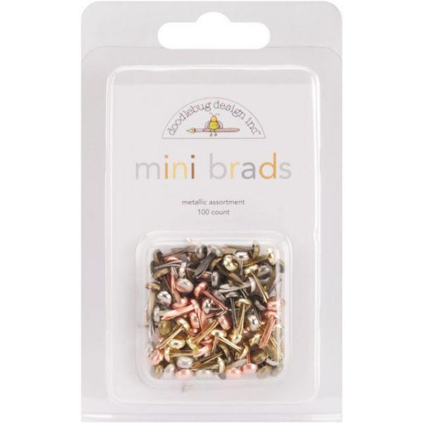 "Mini Brads .125"" 100/Pkg"