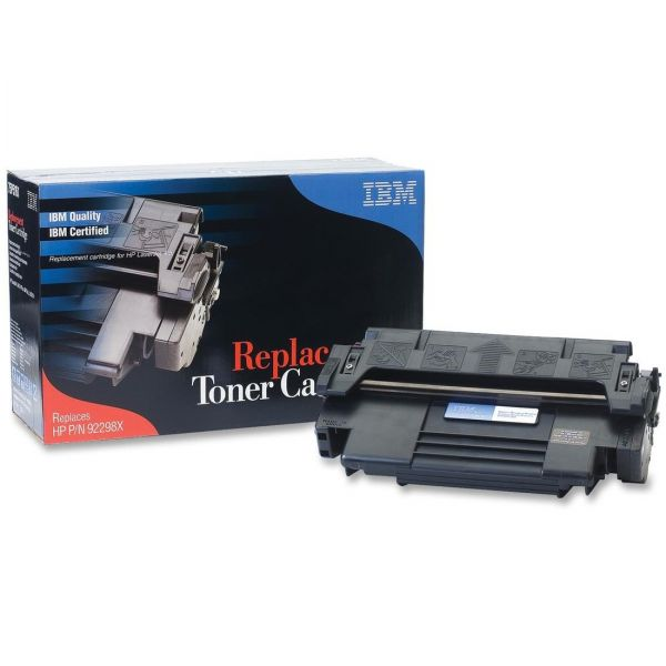 IBM Remanufactured HP 92298X Black Toner Cartridge