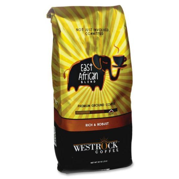 Westrock East African Blend Ground Coffee (2 lbs)