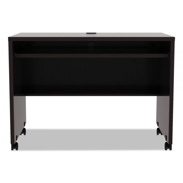Alera Alera Valencia Series Mobile Workstation Desk, 41 3/8 x 23 5/8x 29 5/8, Espresso