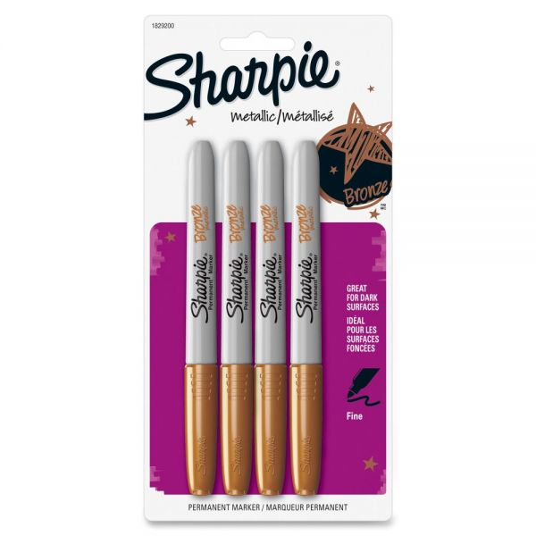 Sharpie Metallic Fine Point Permanent Markers