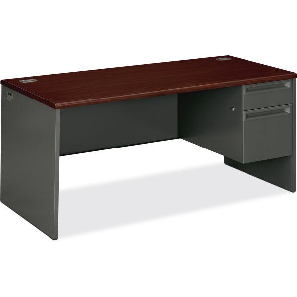 HON 38000 Series Pedestal Desk