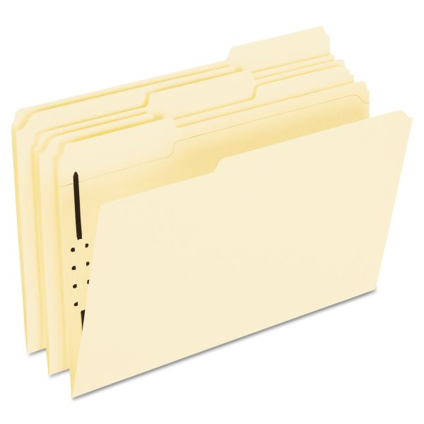 Pendaflex File Folders With Fasteners