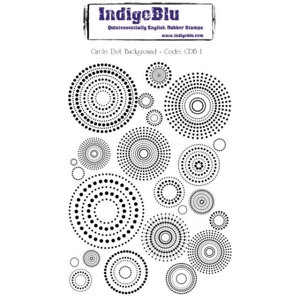 "IndigoBlu Cling Mounted Stamp 5""X4"""