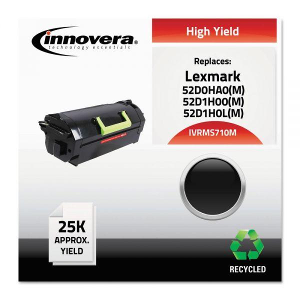 Innovera Remanufactured Lexmark 52D0HA0 High-Yield Toner Cartridge