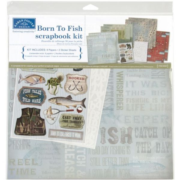 "Karen Foster Scrapbook Page Kit 12""X12"""