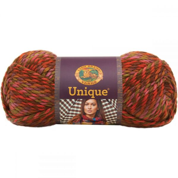 Lion Brand Unique Yarn - Harvest