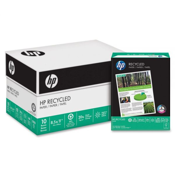 HP Recycled White Copy Paper