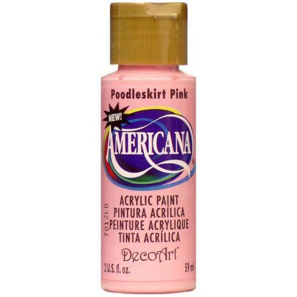 Deco Art Poodleskirt Pink Americana Acrylic Paint