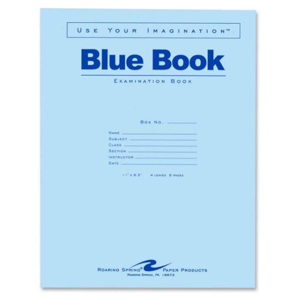 Roaring Spring Examination Books