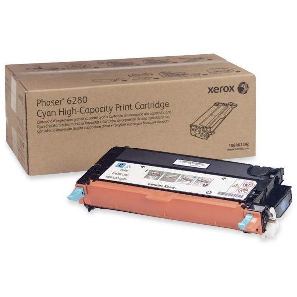Xerox 106R01392 Cyan High Yield Toner Cartridge