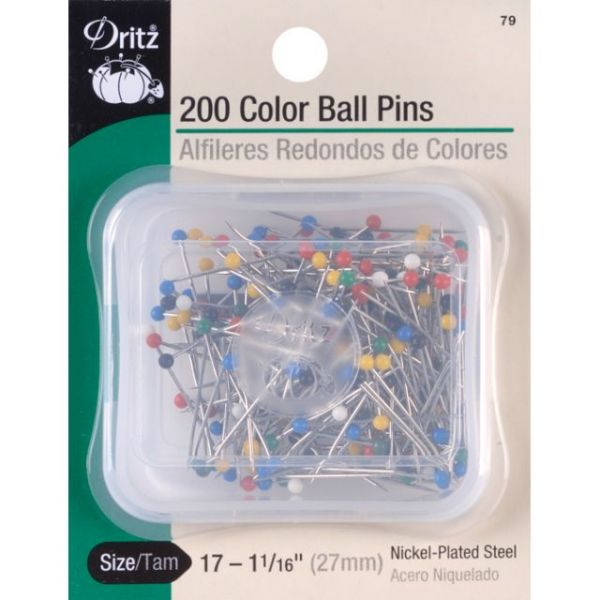 Color Ball Pins