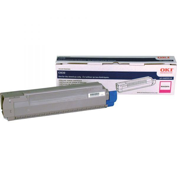 Oki 44059110 Magenta Toner Cartridge