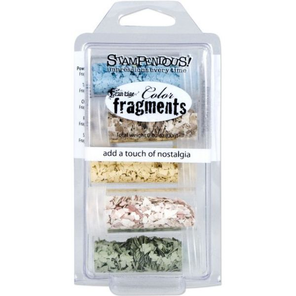 Stampendous Frantage Color Fragments 5/Pkg