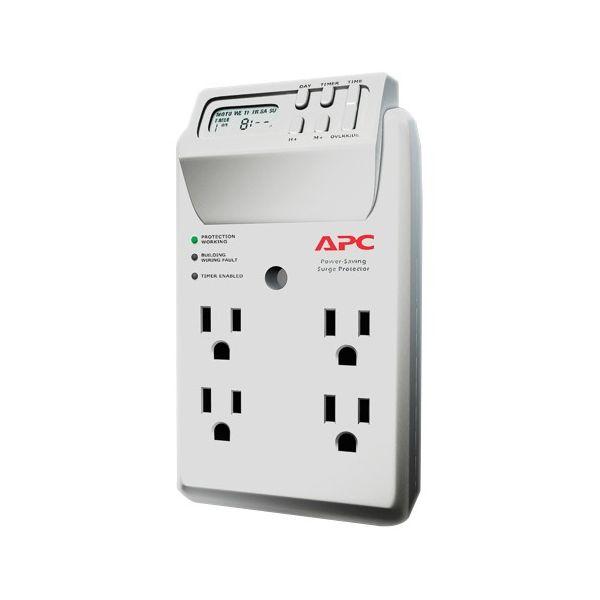 APC by Schneider Electric SurgeArrest Essential P4GC 4-Outlets Surge Suppressor