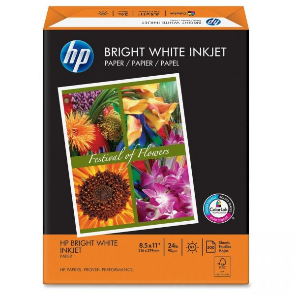 HP Bright White Inkjet Printer Paper