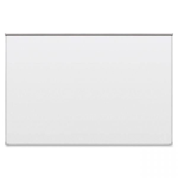 "Balt 72"" x 48"" Ultra Bite Dura-Rite Dry Erase Whiteboard with Tackless Paper Holder"
