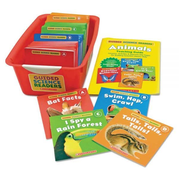 Scholastic Guided Science Reader Super Set, Animals, Grades Pre K-1