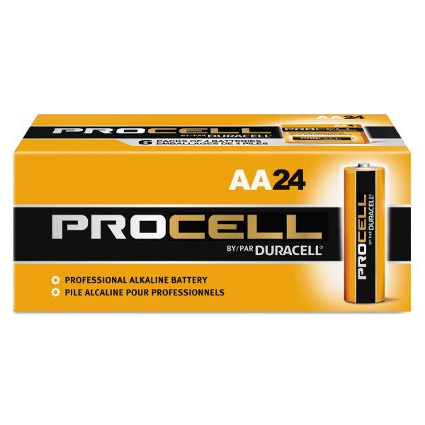 Duracell Alkaline PROCELL AA Batteries