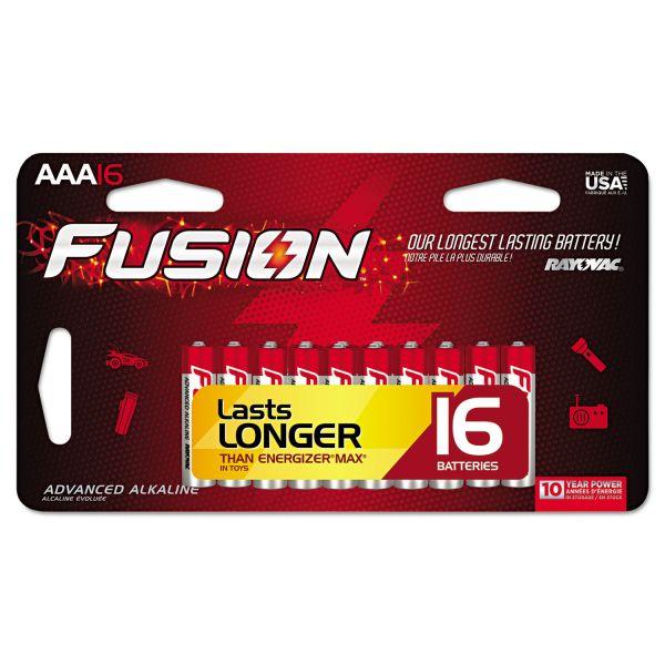 Rayovac Fusion Performance AAA Batteries