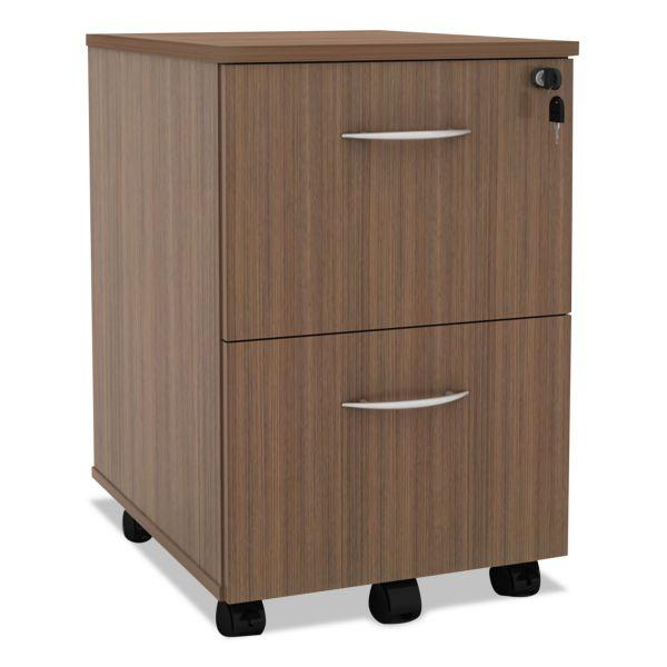 Alera Sedina Series 2-Drawer Mobile File Cabinet