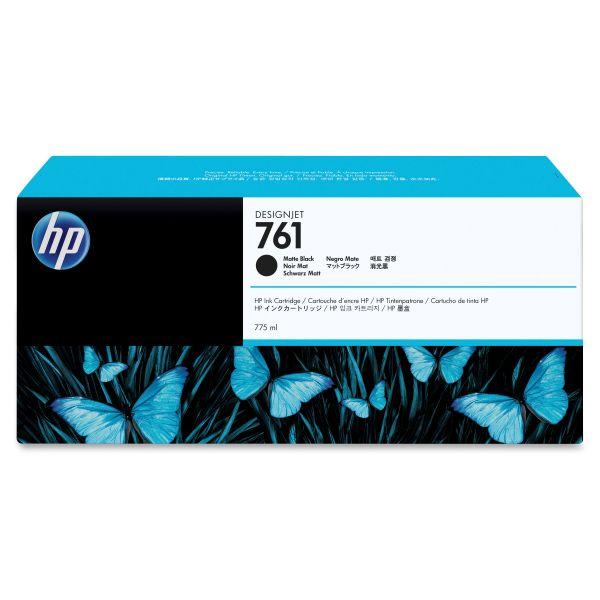HP 761 Matte Black Ink Cartridge (CM997A)