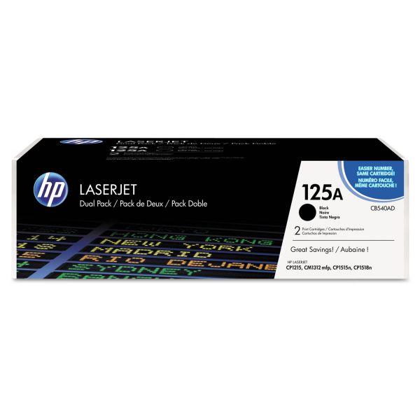HP 125A Black Toner Cartridge (CB540AD)