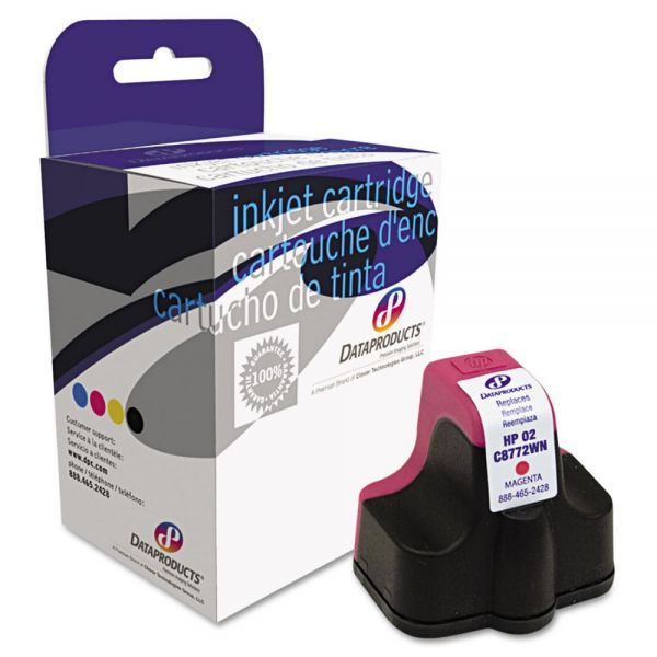 Dataproducts Remanufactured HP 02 Magenta High Yield Ink Cartridge