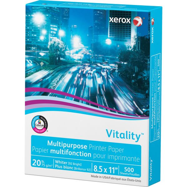 Xerox Vitality White Copy Paper