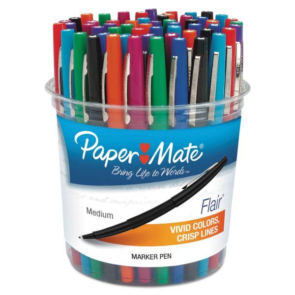 Paper Mate Flair Felt Tip Marker Pens