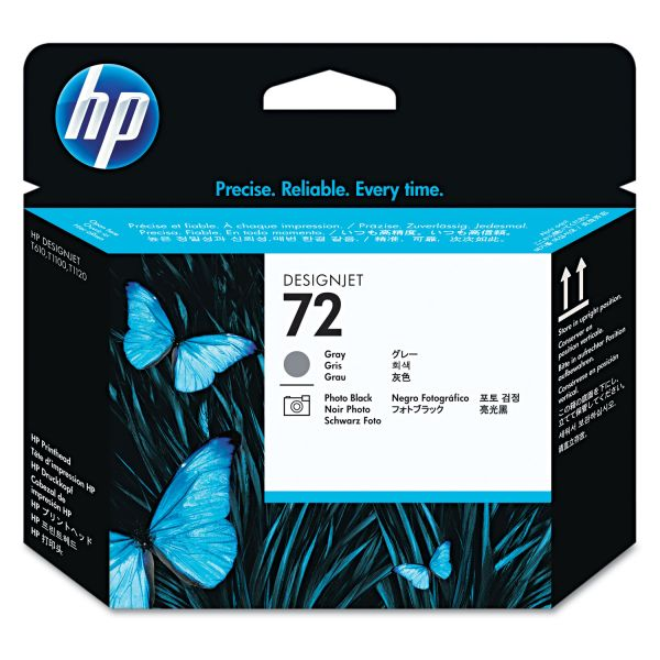HP 72 Gray/Photo Black Printhead (C9380A)