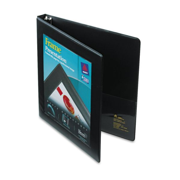 "Avery 1/2"" 3-Ring Frame View Binder"