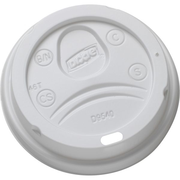 Dixie Sip-Through Dome Coffee Cup Lids