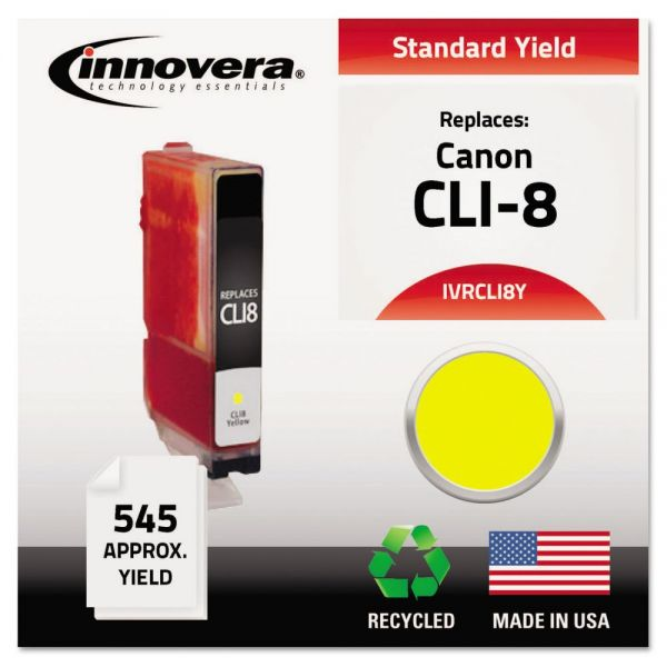 Innovera Remanufactured 06232B002 (CLI-8) Ink, Yellow