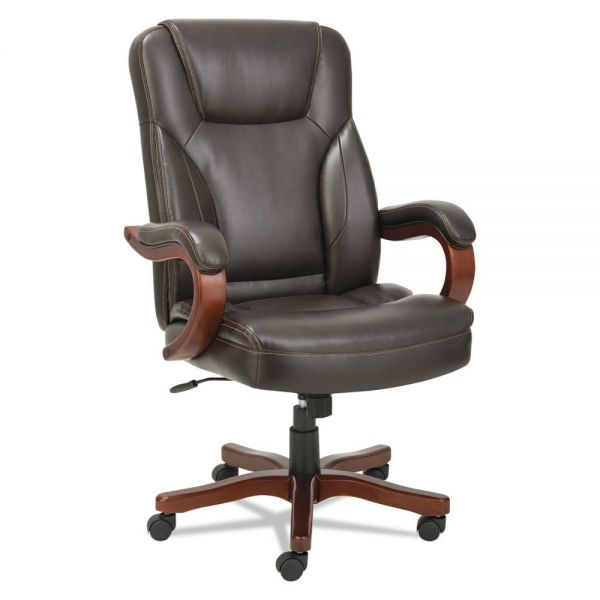 Alera Transitional Series Executive Wood Office Chair