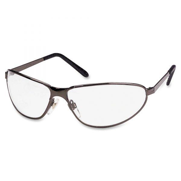 Honeywell Uvex Tomcat Safety Glasses, Gun Metal Frame, Clear Lens