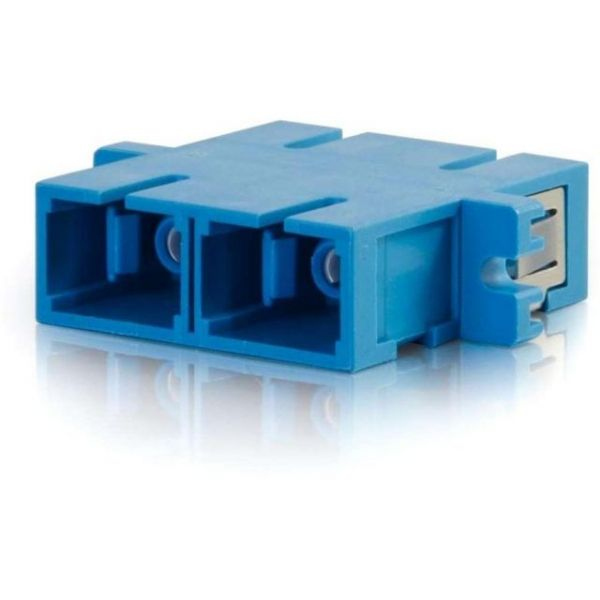 C2G SC/SC Duplex Single-mode Fiber Coupler