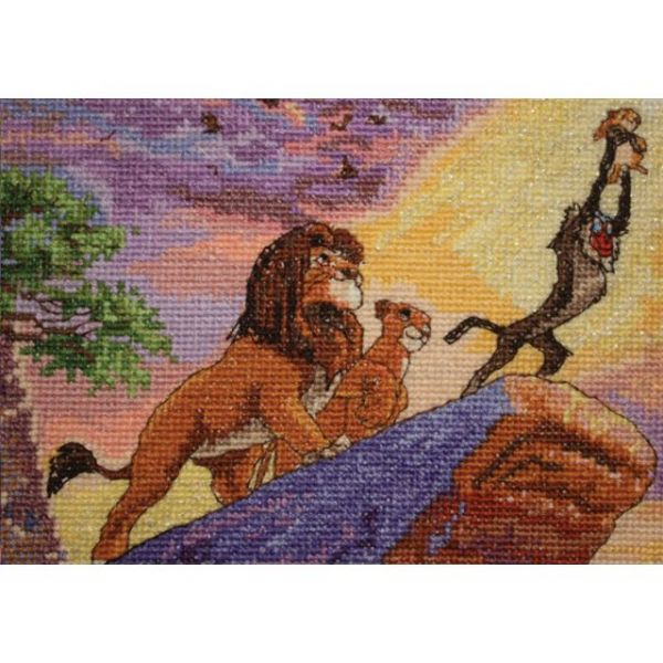 MCG Textiles Disney Dreams Collection By Thomas Kinkade The Lion King