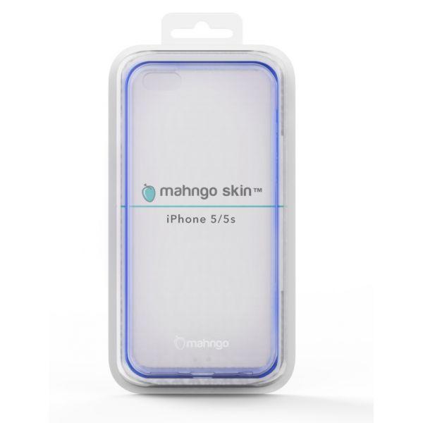 ReVamp Mahngo Skin Slim TPU Protective Case (Blue) (iPhone 5/5S)