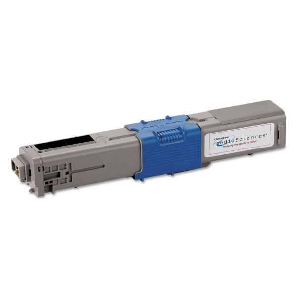 Media Sciences Remanufactured Oki 44469801 Toner Cartridge