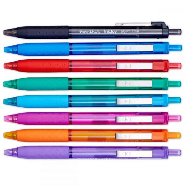 InkJoy 300RT Retractable Ballpoint Pens 1.0mm 24/Pkg