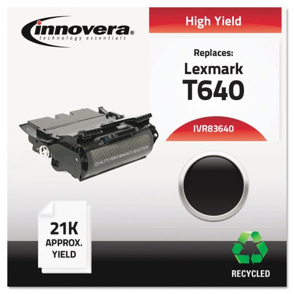 Innovera Remanufactured Lexmark T640 High-Yield Toner Cartridge