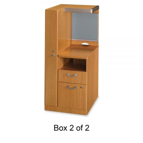 bbf Quantum QT2837MC Left Storage Tower Box 2 of 2 by Bush Furniture