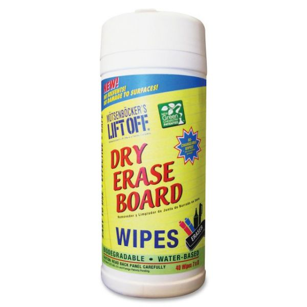 Motsenbocker's Liftoff Dry Erase Board Cleaner Wipes