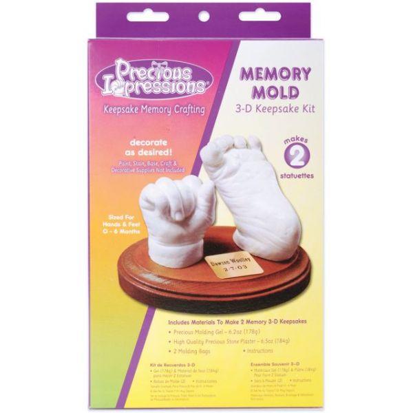 Precious Impressions Memory Mold 3D Keepsake Kit