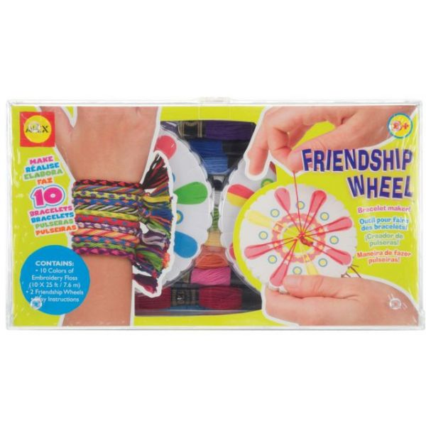 ALEX Toys Do-It-Yourself Friendship Wheel Bracelet Maker Kit